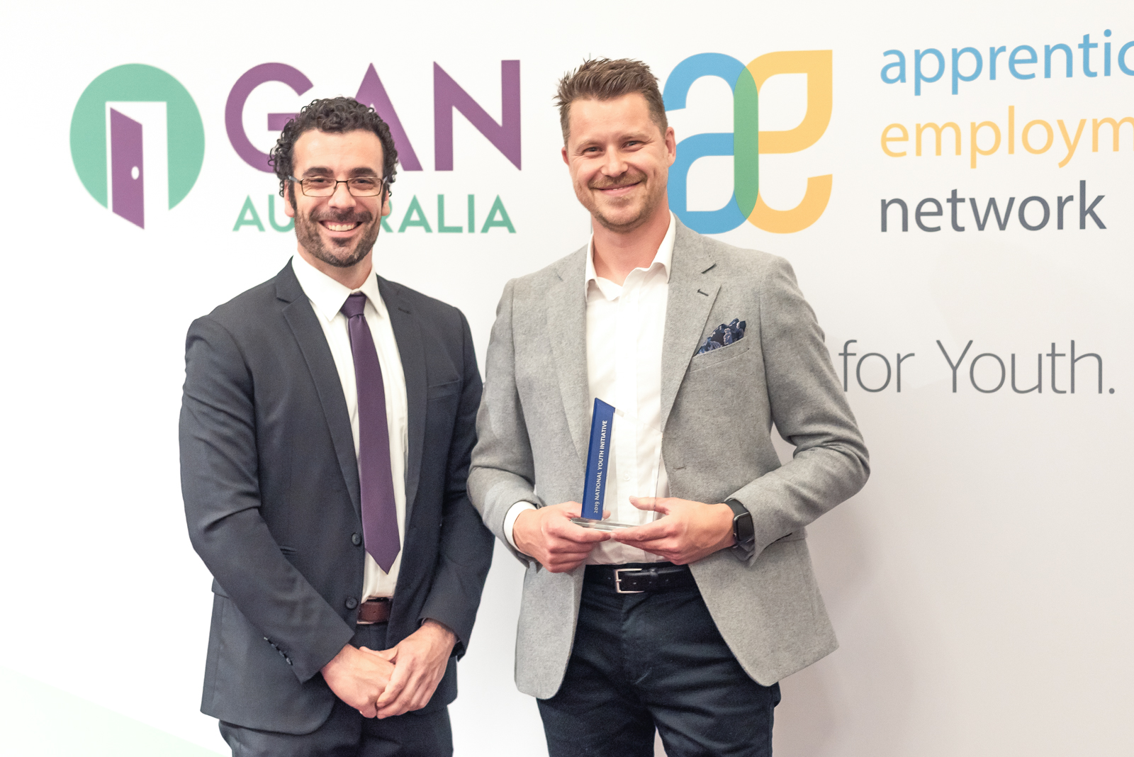 Nik GAN Australia and Patrick Faellar Adecco